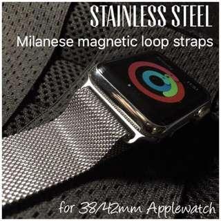Apple Watch Straps Milanese Steel Magnetic Loop 38/42mm