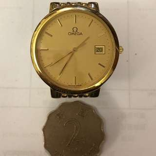 Omega De Ville Quartz Men's Watch #marchsale