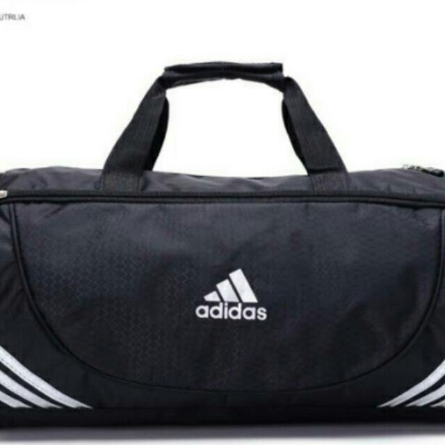 bb6b4504b59a INSTOCKS) (2 Colours) Authentic Adidas Gym Duffle Bag With ...