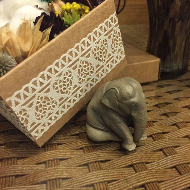 [扭蛋]度估大象🐘公仔