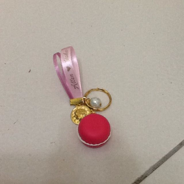 馬卡龍鑰匙圈