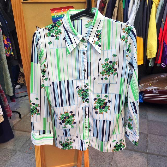 日本古著襯衫