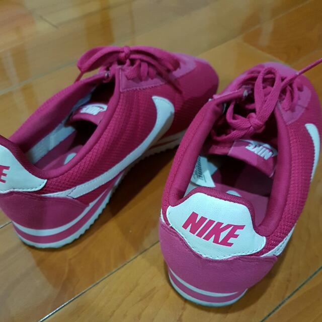 經典稀有桃紅色阿甘鞋