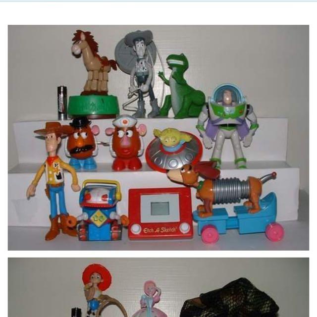 收購 早期麥當勞 漢堡王 玩具總動員 玩具 全新 二手