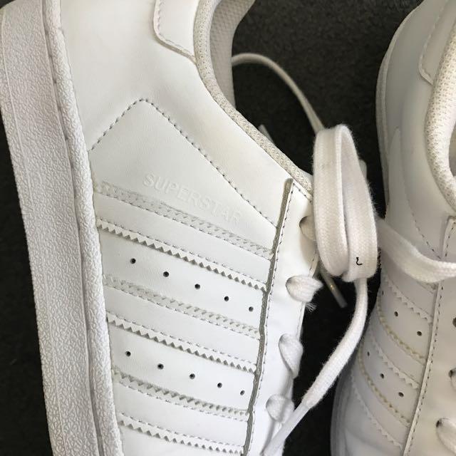 Adidas Superstars Size 38 2/3