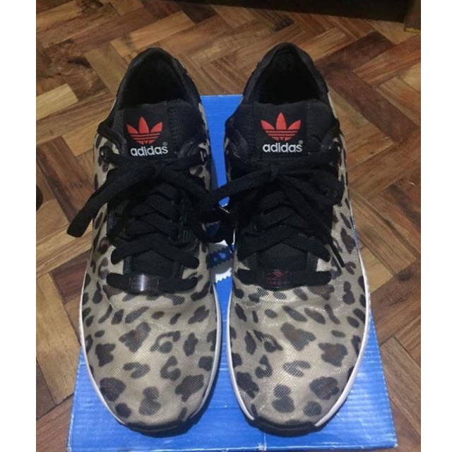 577ee16f15f7 Adidas ZX Flux Decon Cheetah Print