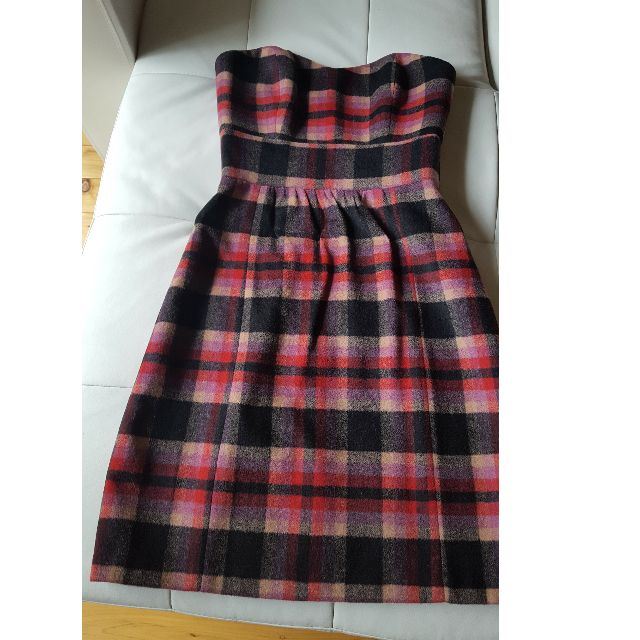 Alannah Hill checkered tube dress