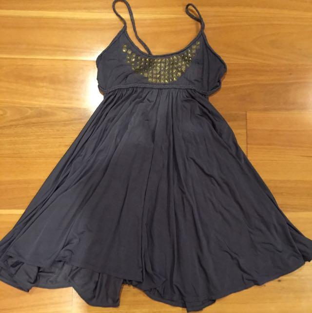 Anise Steel Grey Dress