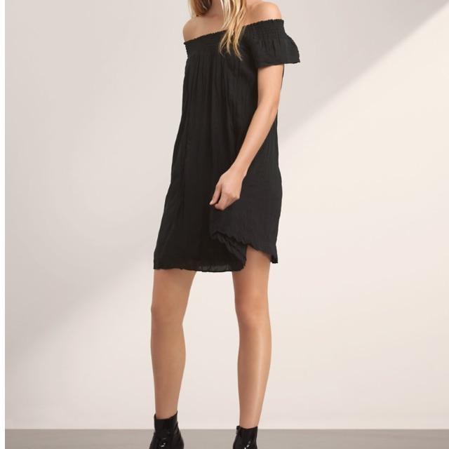 Aritzia Black Horatio Dress- Size Med