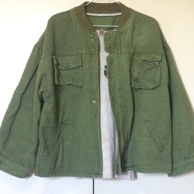 Army Green Jacket FOR SWAP