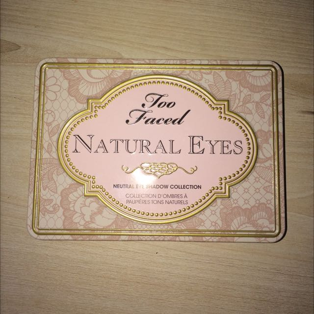AUTH - Too faced - Natural eyes palette