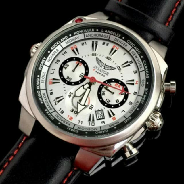 Aviator World Time Chronograph F-Series
