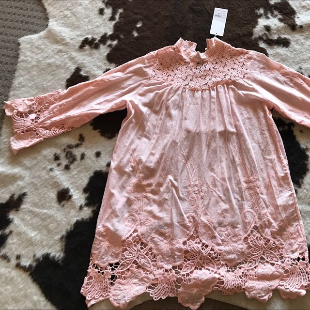 Baby Doll Lace Dress