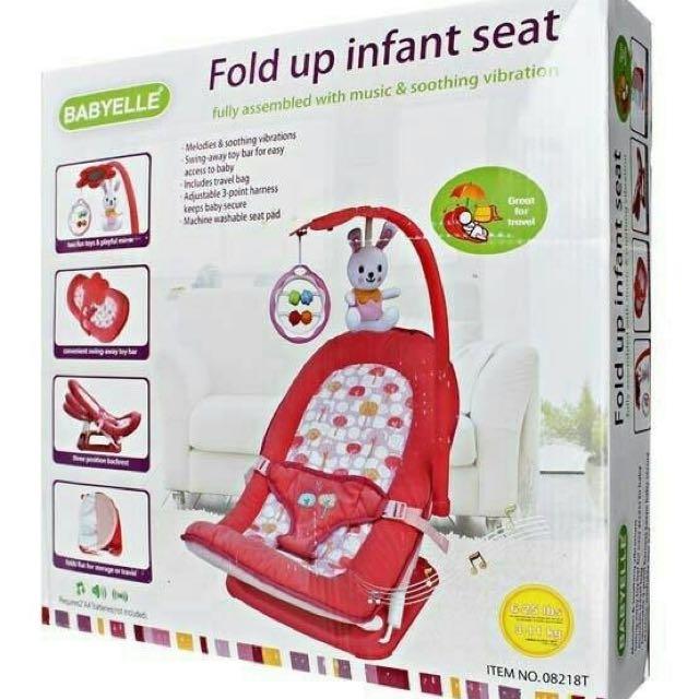 Babyelle Foldup Infant Seat / Bouncer Bayi