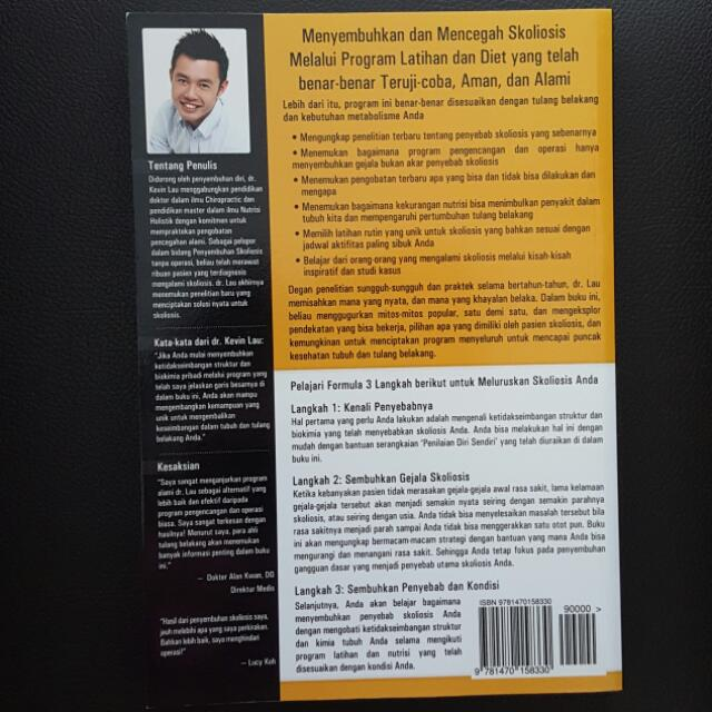 Bahasa Indonesia -- Your Plan For Natural Scoliosis Prevention and Treatment - Health In Your Hands (Third Edition)