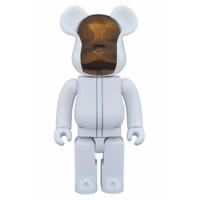 Bearbrick daft punk (white suits ver.) 2 pack 400%