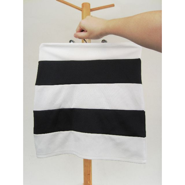 Black and White Horizontal Stripes Skirt RESERVED UNTIL APRIL 26