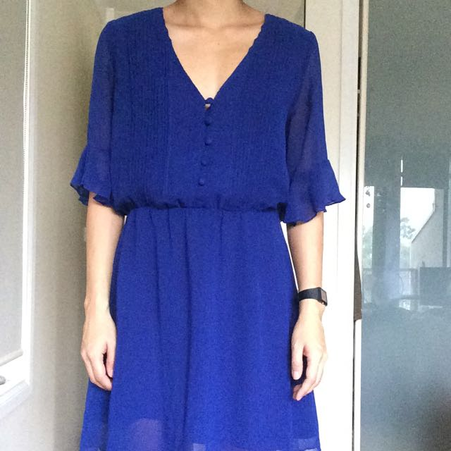Blue Dress Sz 8