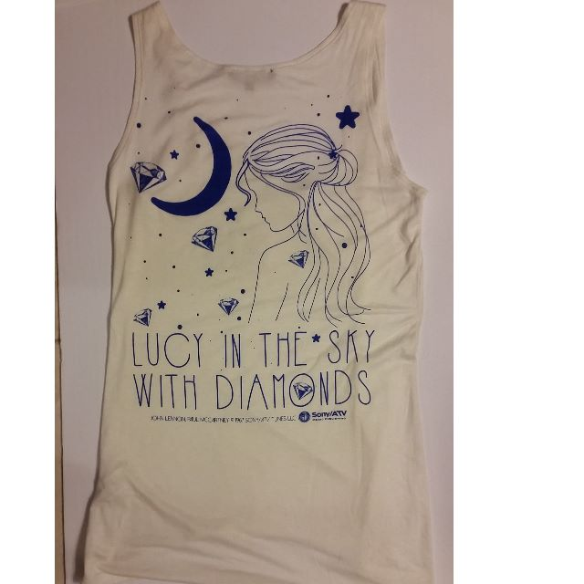 NWOT Bluheaven 'Lucy In the Sky with Diamonds' Tank Top Size S