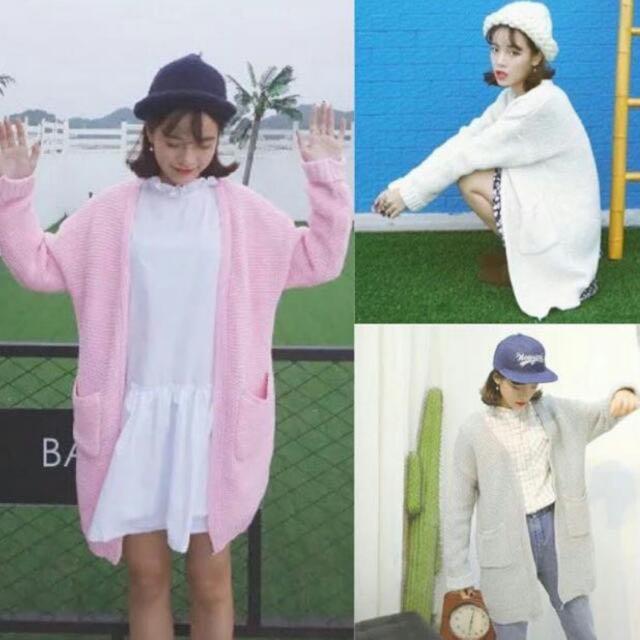 9ec4fcfa00e BN Instock Stylenanda Inspired Pastel Pink Oversized Knitted ...