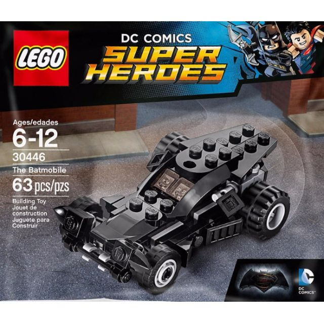 Lego Batman 30446 DC Comics Super Heroes The Batmobile NEW SEALED POLYBAG