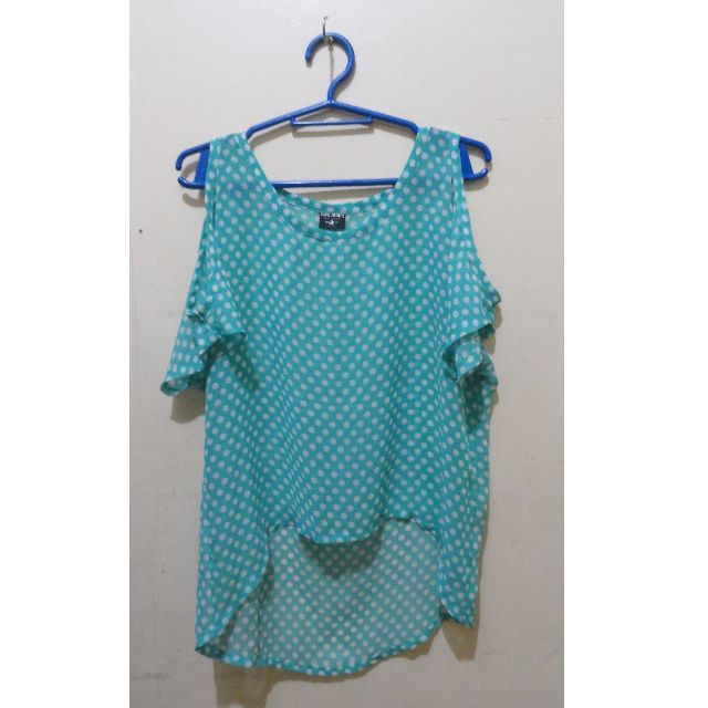BNY Jeans: See-through Polka dots Design (Small)