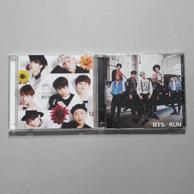 BTS I Need U & Run Japanese Ver