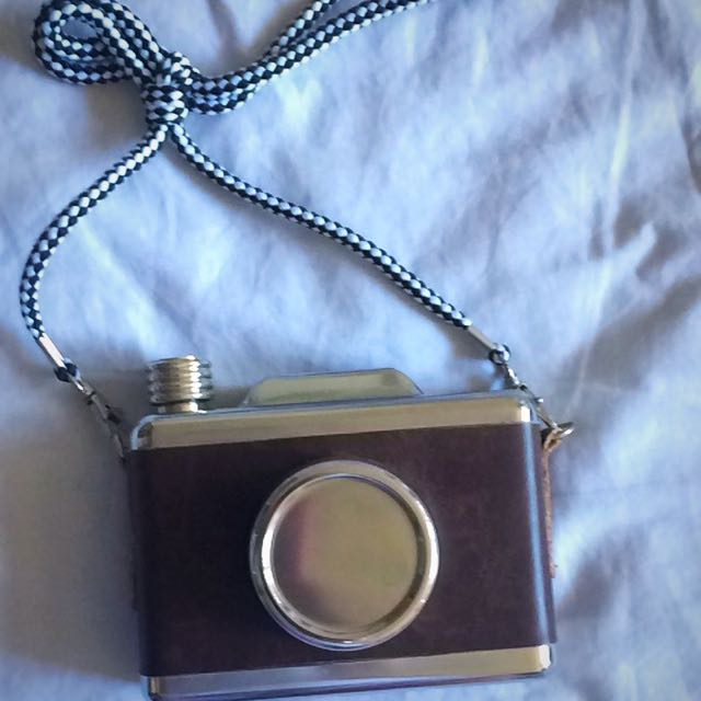 Camera Shaped Flask For Alcohol
