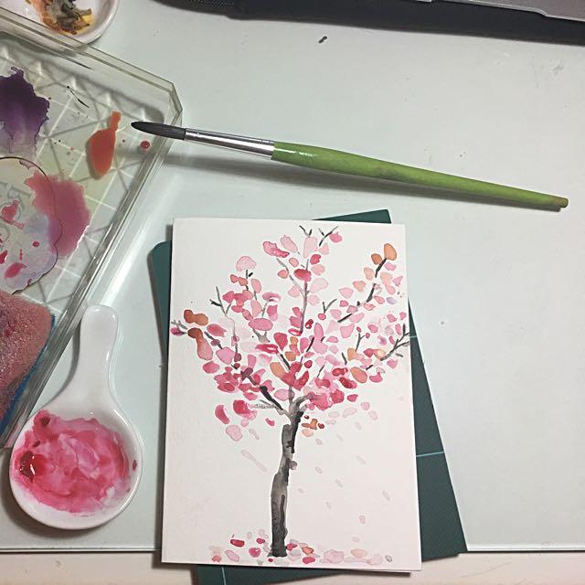 Card Design (watercolor)