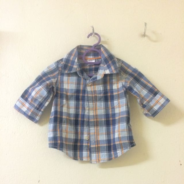Carters Flannel Shirt