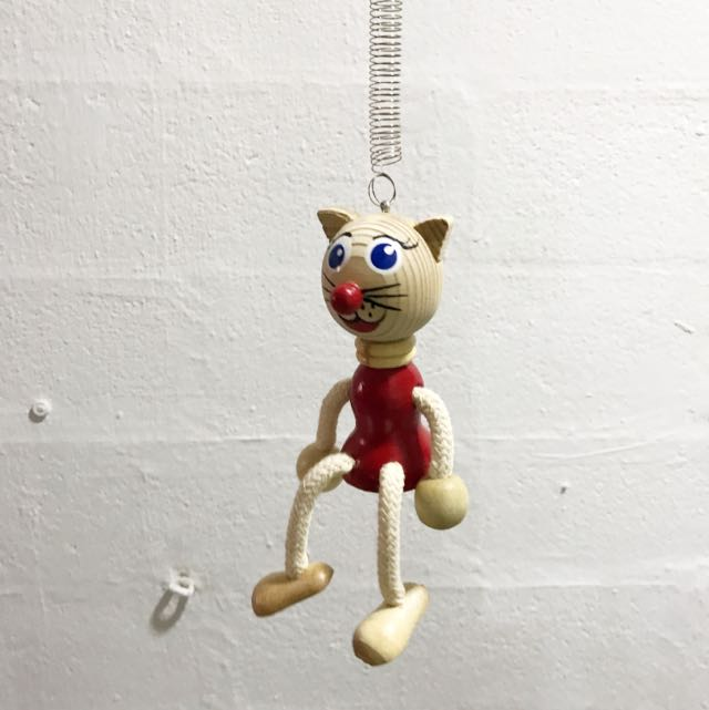 Cat & Mouse Hanging Toys