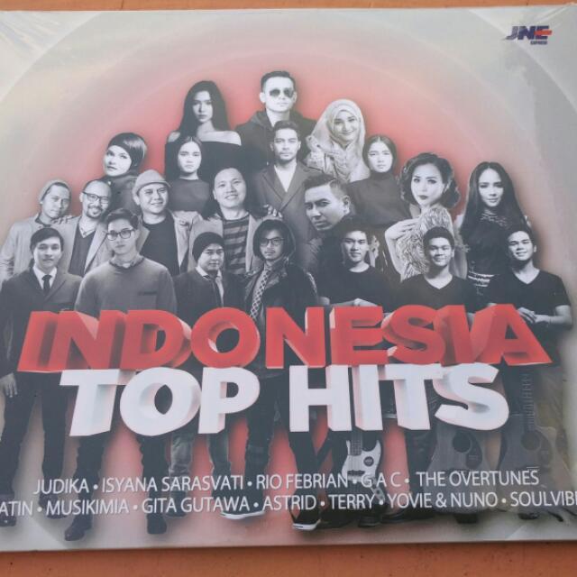 CD Indonesia Top Hits produksi PT. Sony Music Indonesia.