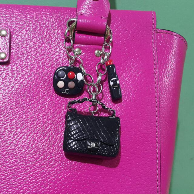 Chanel Inspired Bag Charm