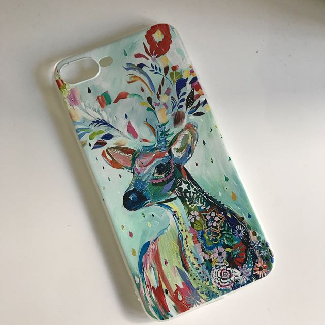 Colourful Deer iPhone 7 Plus Phone Case