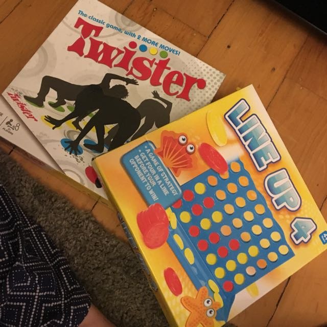 Connect 4 & Twister