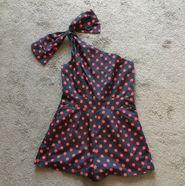 Cute Dot Play suit