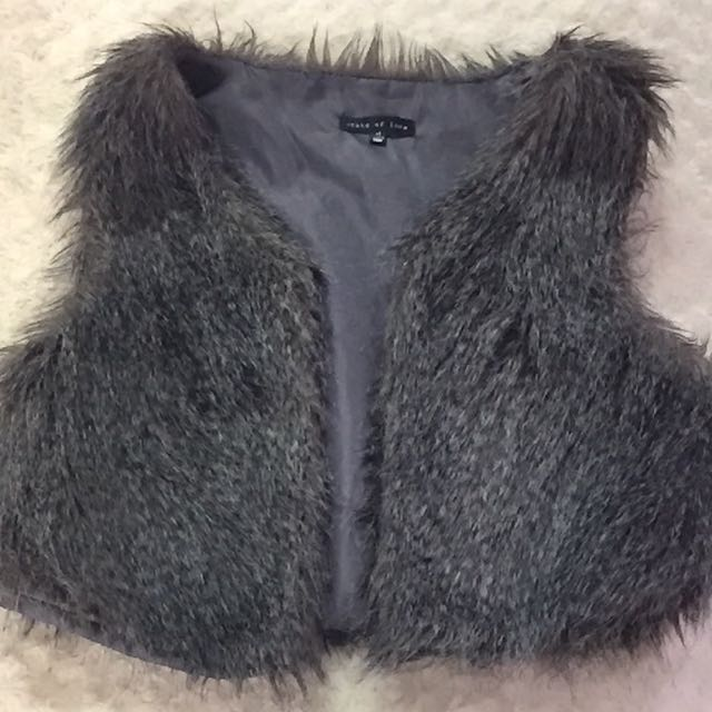cute fur jacket