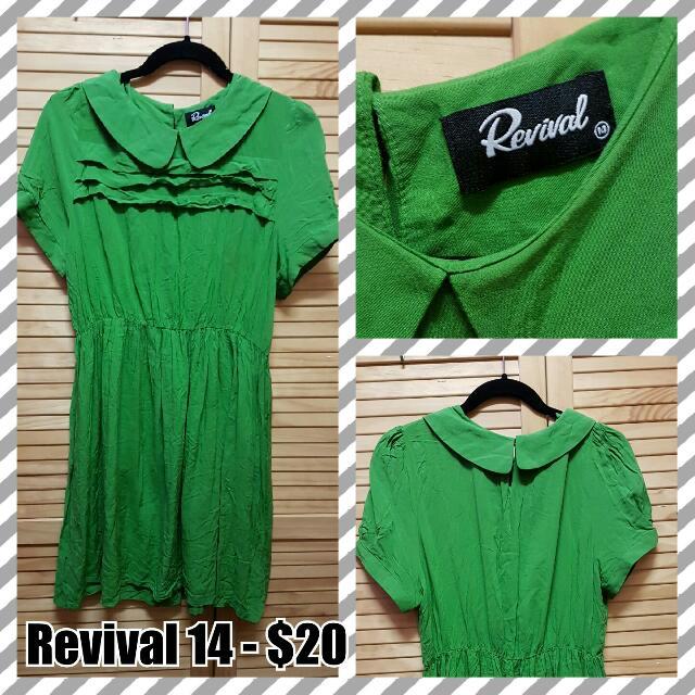 Dangerfield/Revival Green Dress.