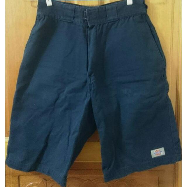 Dickies 男生 深藍 帆布 短褲