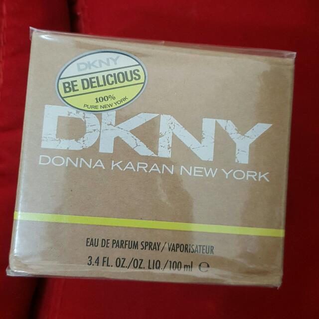 DKNY Be Delicious Eau De Parfum Spray 3.4oz (100ml)