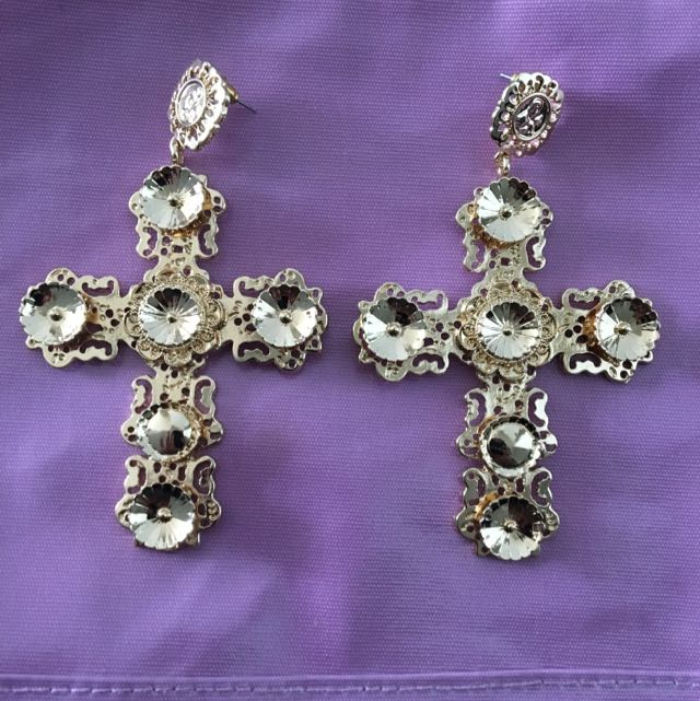 Dolce Cross Earrings