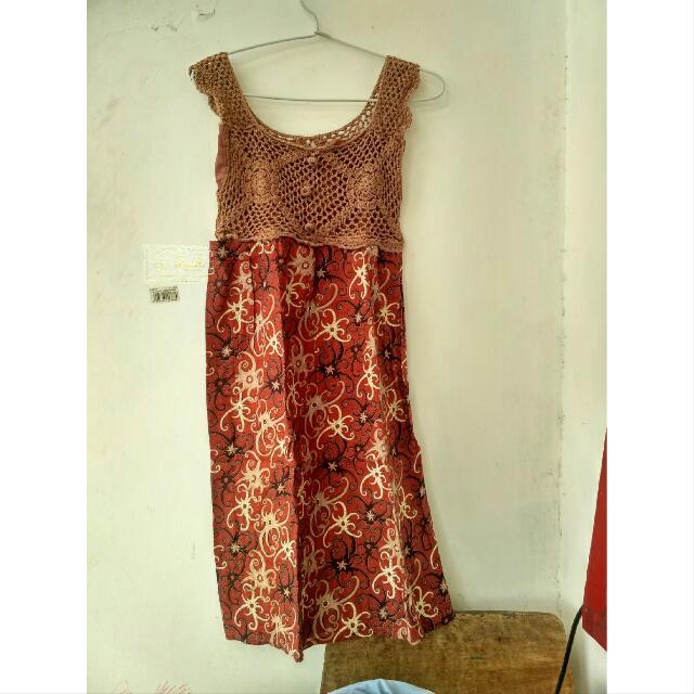 Dress Batik Rajut
