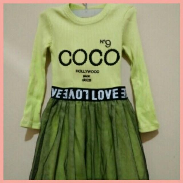 Dress Coco Rok Tutu