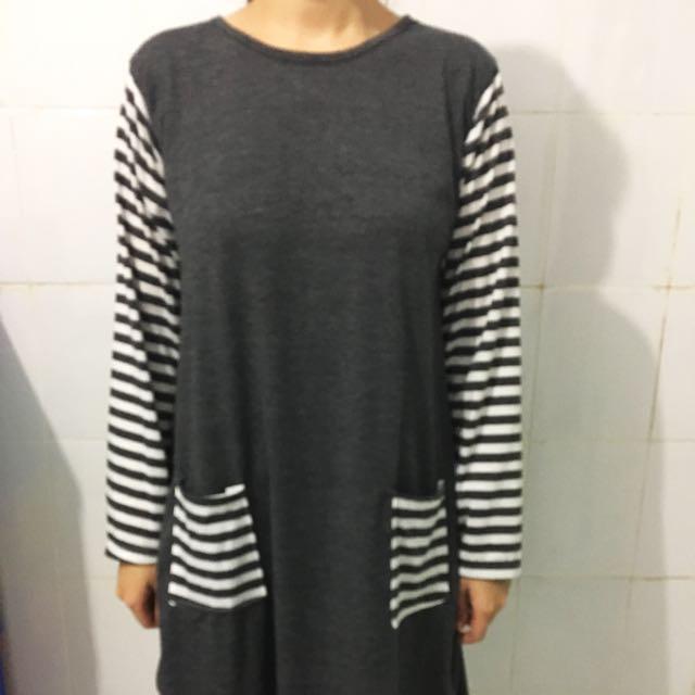 Dress Lengan Panjang