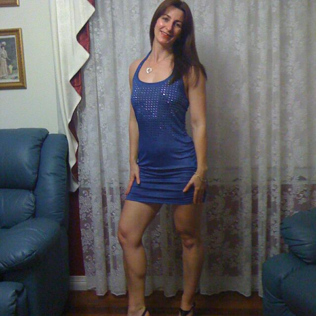 Electric Blue Sparkle Dress