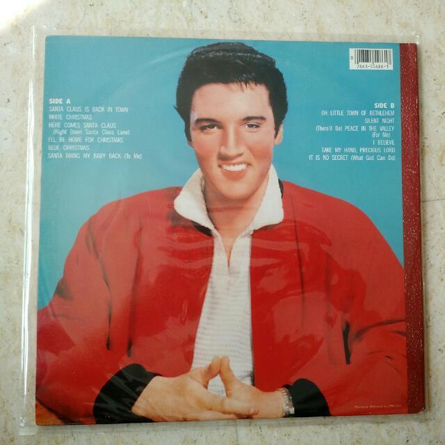 Elvis Christmas Album Vinyl.Elvis Presley Elvis Christmas Album Lp Vinyl Music