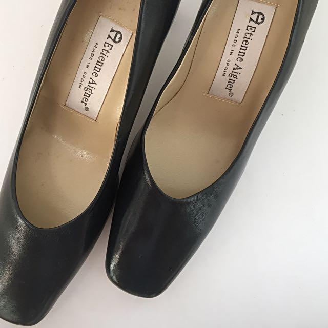 Etienne Aigner Black Shoes