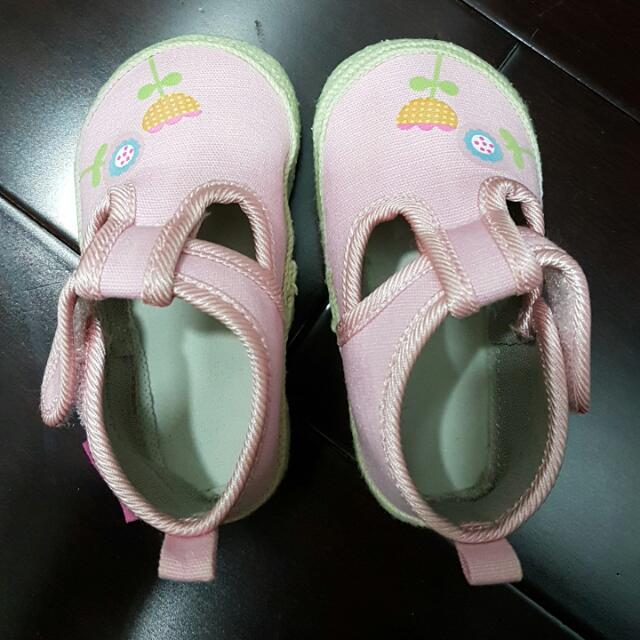 Fisher Price Infant Rubberized Soft Sole Shoes US3