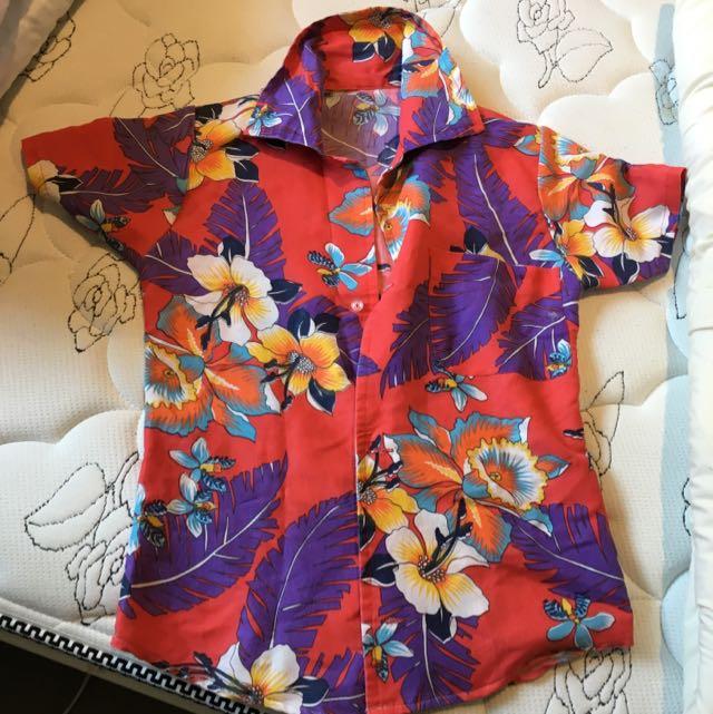 Flora Button Up Shirt