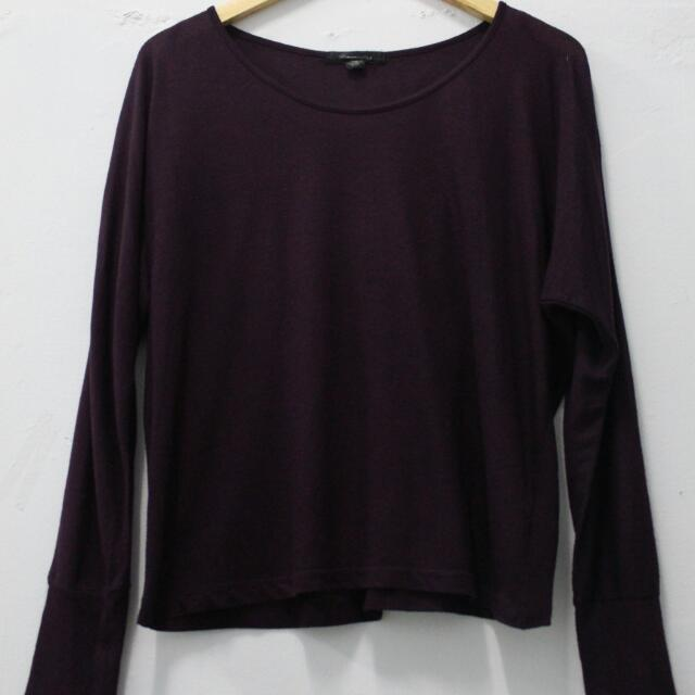 Forever 21 Purple Basic Sweatshirt